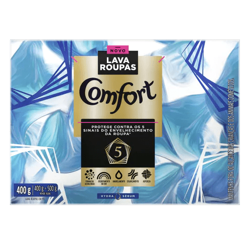Comfort Hydra Sérum Lava Roupas Em Pó pack shot